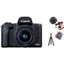 Canon EOS M50 Mark II + EF-M 15-45mm IS STM + Vlogger Kit