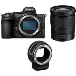 Nikon Z5 + Z 24-70mm F4 S + FTZ Adapter