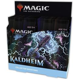 Wizards of the Coast Magic the Gathering: Kaldheim Collector Booster Display