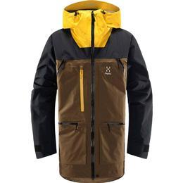 Haglöfs Vassi GTX Pro Jacket - Teak Brown/Pumpkin Yellow
