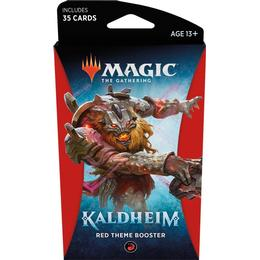 Wizards of the Coast Magic the Gathering: Kaldheim Theme Booster Red