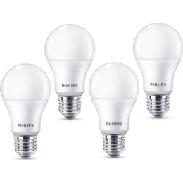 Philips 7532240 LED Lamps 8W E27 4-pack