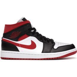 Nike Air Jordan 1 Mid M - White/Black/Gym Red