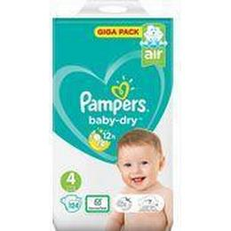 Pampers Baby Dry Size 4 9-14kg 124pcs