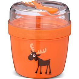 Carl Oscar N'ice Cup Lunch Box Orange
