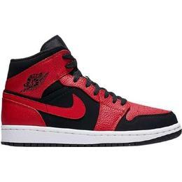 Nike Air Jordan 1 Mid Banned - Black/White/Gym Red