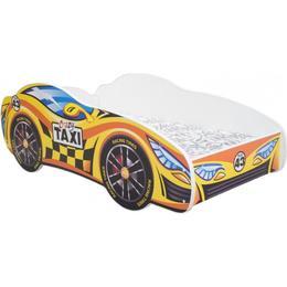 Kobi Taxi Car Bed with Mattress 140x70Cm