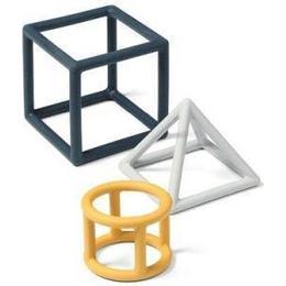 BabyOno Geometric Educational Teethers