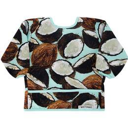 Twistshake Long Sleeve Bib Coconut