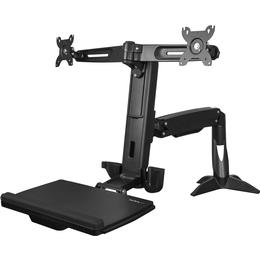 StarTech.com Sit Stand Dual Monitor Arm