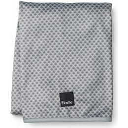 Elodie Details Pearl Velvet Blanket Turquoise Noveau