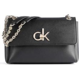 Calvin Klein Recycled Convertible Crossbody Bag - Black