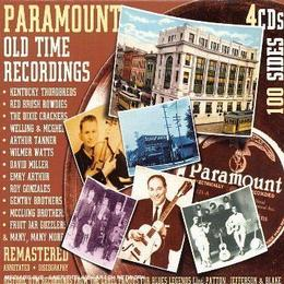 Various Artists - Paramount Old Time Recordings