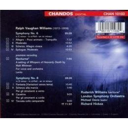 London Symphony Orchestra - Vaughan Williams: Symphony No. 6; Symphony No. 8; Nocturne