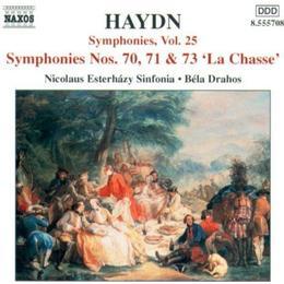 Haydn - Symfoni 70/71/73