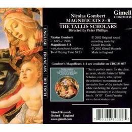 Gombert Schlars - Magnificat 5-8