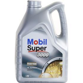 Mobil Super 3000 X1 5W-40 5L Motorolja