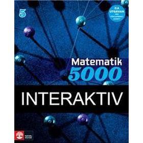 Matematik 5000 Kurs 5 Blå Lärobok, 2:a uppl Interaktiv (Övrigt format, 2016)
