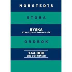 Norstedts stora ryska ordbok: Rysk-svensk/Svensk-rysk (Kartonnage, 2012)