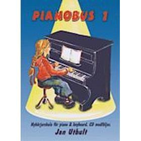 Pianobus 1: nybörjarskola för piano & keyboard (Häftad, 2005)