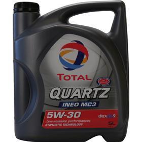 Total Quartz Ineo MC3 5W-30 5L Motorolja