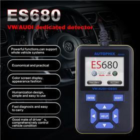 Felkodsläsare VAG - Autophix E-SCAN ES680
