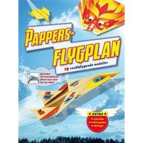 Pappersflygplan: 19 vikbeskrivningar och modellark (Häftad, 2017)