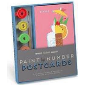 Cocktails Paint by Number Postcards (Övrigt format, 2017)