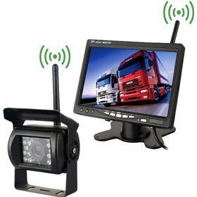 Night vision trådlös backkamera för lastbil - 7 tums monitor