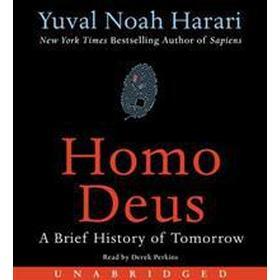 Homo Deus: A Brief History of Tomorrow (Ljudbok CD, 2017)