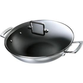 32 cm Durchmesser 18//8 JADE TEMPLE 17104 Edelstahl Hot Pot Wok