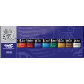 Winsor & Newton Artisan Water Mixable Oil Colour Tube Set 10x37ml