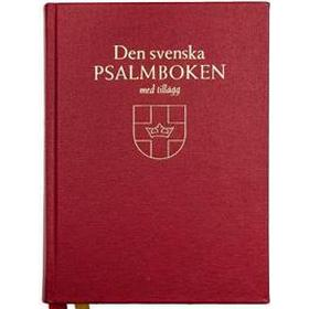Den svenska psalmboken med tillägg (bänkpsalmbok) (Inbunden, 2018)