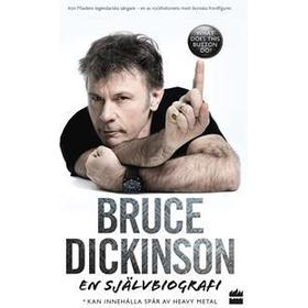 Bruce Dickinson: en självbiografi - what does this button do? (Pocket, 2018)