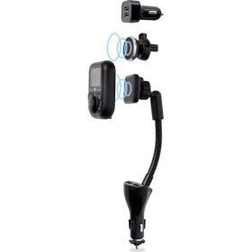 DAB+ mottagare Renkforce RF-DAB-CAR1 Musikstreaming via Bluetooth, Handsfreefunktion, Laddningsfunktion