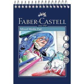 Faber-Castell Mixed Media Pad A3 Spiralblock
