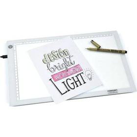 LED Lightbox tracing pad - 360x240mm - Ljusbord