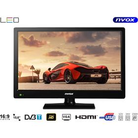TV till husvagn 15 tum LED TV 12V 230V HDMI USB
