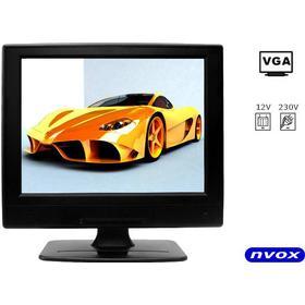 Bildskärm 12 tum LCD monitor VGA HDMI 12V 230V