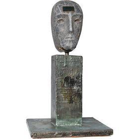 Kosta Boda Janus Face of I 55cm Skulptur