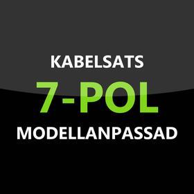 Elkabelsats 7-polig Fordonsspecifik Volvo V70 04-07