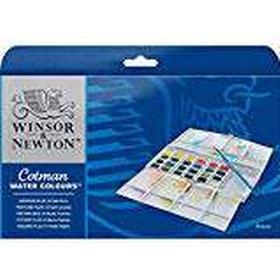 Winsor & Newton Cotman Painting Plus Water Colour Half Pan (Pack of 24)