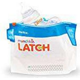 Munchkin Latch Microwave Steriliser Bags. For Coffee, Pack of 6