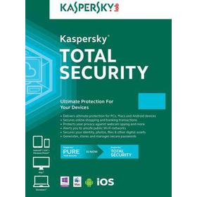 Kaspersky Total Security 10 Devices 1 Year Kaspersky Key GLOBAL