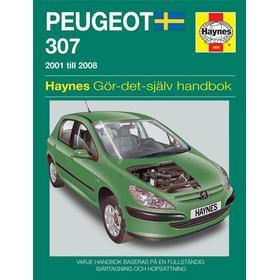 Reparationshandbok Peugeot 307 2001-2008