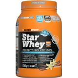 Kosttillskott Namedsport Star Whey Isolate Vanilla 750g