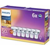 Philips Spot LED Lamps 5W GU10 6-pack