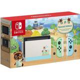 Spelkonsoler Nintendo Switch - Green/Blue - 2020 - Animal Crossing: New Horizons Edition