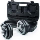 Gymstick Adjustable Dumbbell Set 2x15kg