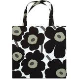 Handväskor Marimekko Pieni Unikko - White/Black
